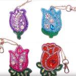 брелки из алмазиков