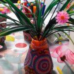 необычная вазочка для цветов